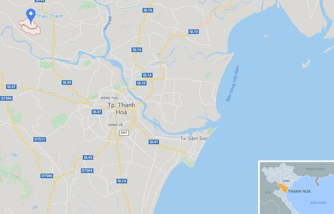 Vo, con lanh dao xa o Thanh Hoa 'lac' vao danh sach ho can ngheo hinh anh 2 map_thanhhoa_k.jpg