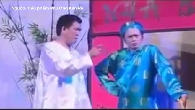 Nhat Cuong, Hoai Linh lam kho nhau voi nhung cau do hoc bua hinh anh