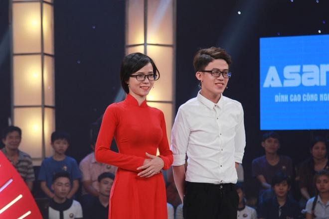 Tran Thanh 'cuoi xiu' khi cap doi doi triet san Truong Giang vi lun hinh anh