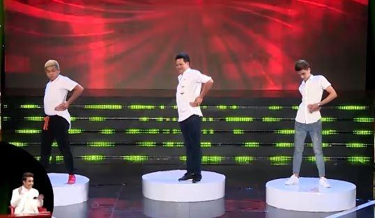 Le Nam, Thanh Tan nhay hiphop nhu 'tom lan bot' de vuot thu thach hinh anh