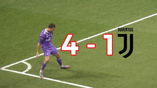 Xem lai C.Ronaldo cung Real 'huy diet' Juventus nhin tu ghe khan gia hinh anh