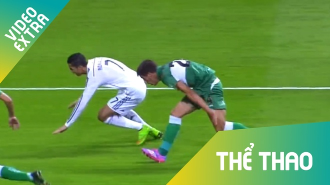 Tong hop nhung pha 'cham la te' cua C.Ronaldo hinh anh