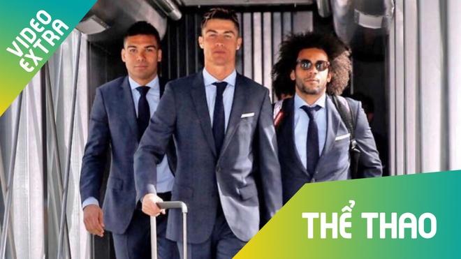 C.Ronaldo cung dan sao Real an mac nhu minh tinh dien anh den Munich hinh anh