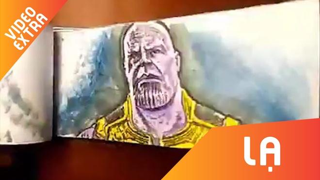 Phim Avengers duoc ve len giay sieu thuc hinh anh