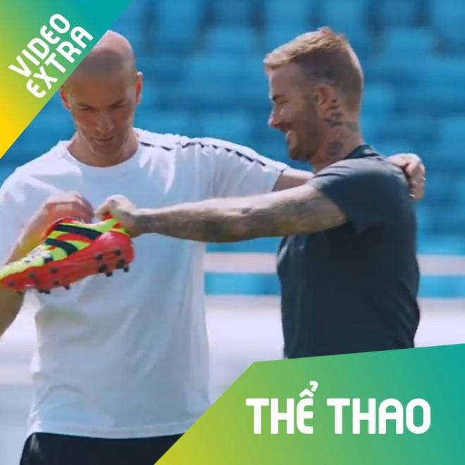 Zidane va Beckham so tai sut xa hinh anh