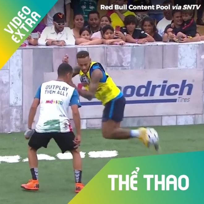 Neymar tung '36 chieu' ky thuat tai giai bong da phui hinh anh