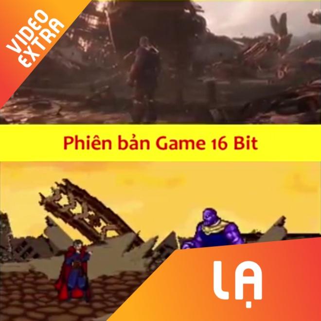 Mo phong Avengers: Infinity War theo phong cach game 16 bit hinh anh