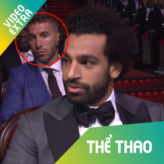 Ramos 'cang thang' khi nghe Salah tra loi phong van hinh anh
