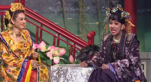 Tran Thanh duoc Lam Khanh Chi huong dan cach giam can giu dang hinh anh