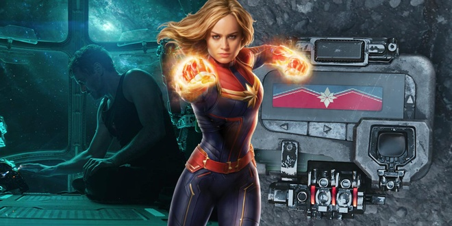 Audi quang cao xe hai huoc voi Captain Marvel nhu the nao? hinh anh