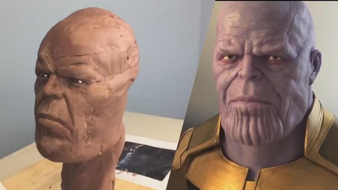 Thu lam mo hinh Thanos bang cao su va silicon hinh anh