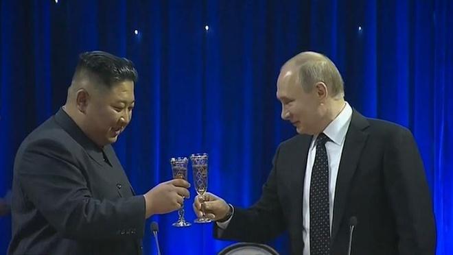 TT Putin cung ong Kim nang ly sau cuoc hop dai gap doi du kien hinh anh