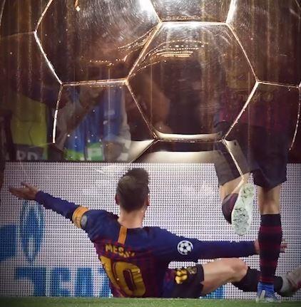 Tai sao Qua bong vang 2019 gan nhu 99% da thuoc ve Messi? hinh anh