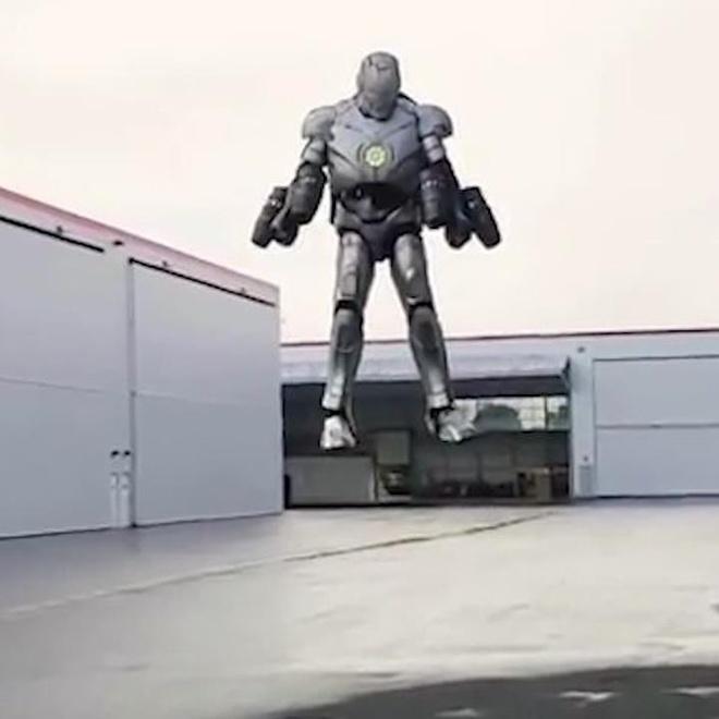 Bo giap Iron Man phien ban doi thuc nay la mo uoc cua nhieu nguoi hinh anh