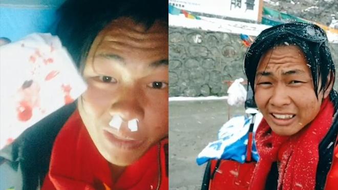 Chang trai Trung Quoc di bo qua 11 tinh TQ va 27 thanh pho cua VN hinh anh