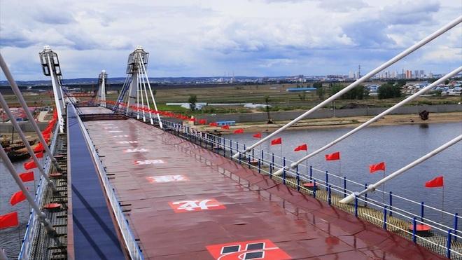 Cầu cao tốc nối Trung Quốc và Nga sắp hoàn thành sau 30 năm