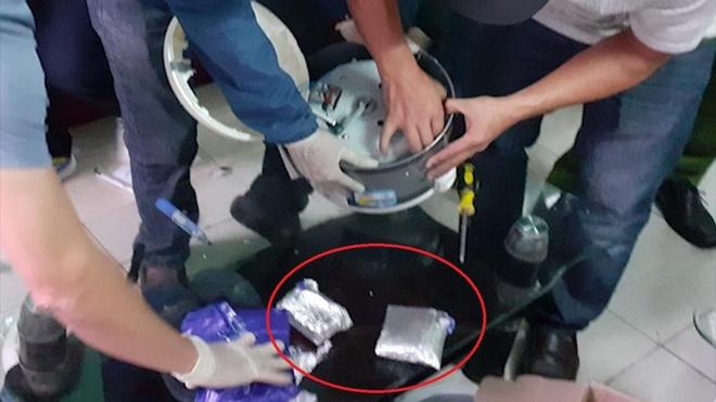 Vận chuyển 3.000 viên ma túy từ Lào về giấu trong nồi cơm điện