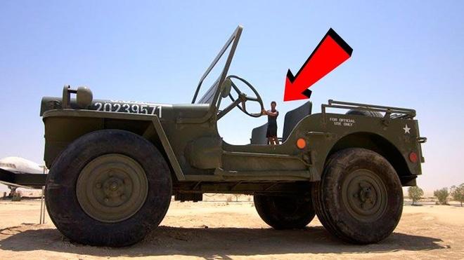 Sieu pham Jeep khong lo va nhung chiec xe ky quai nhat the gioi hinh anh