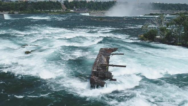 Thuyen tren thac Niagara bat khoi vi tri sau 101 nam mac ket hinh anh