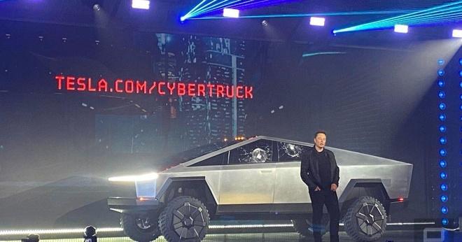 Xem nhanh su kien ra mat Tesla Cybertruck trong 5 phut hinh anh