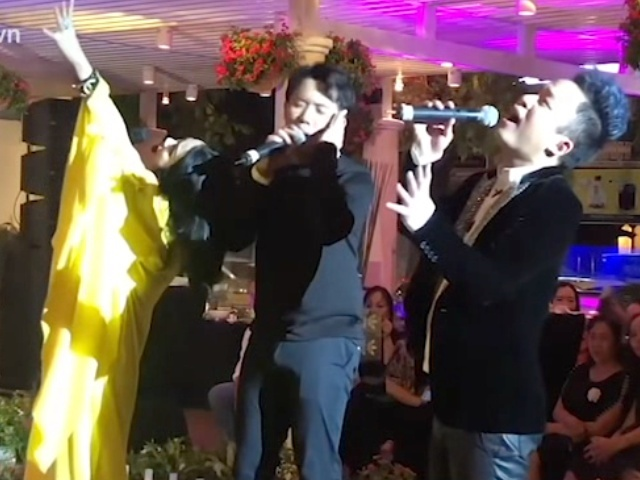 Tran Thanh hat 'Ben em la bien rong' cung Thanh Lam, Tung Duong hinh anh