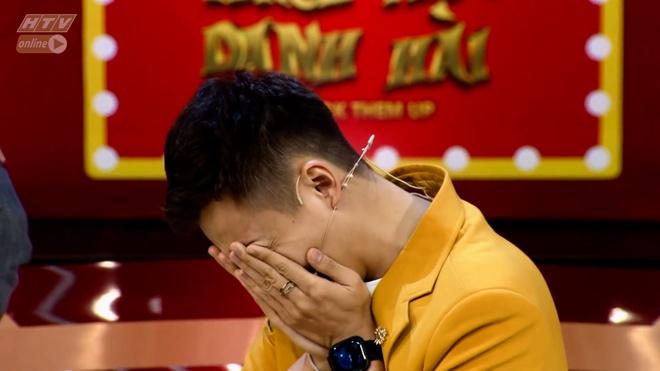 Ngo Kien Huy bi trai la hon ma o game show hinh anh