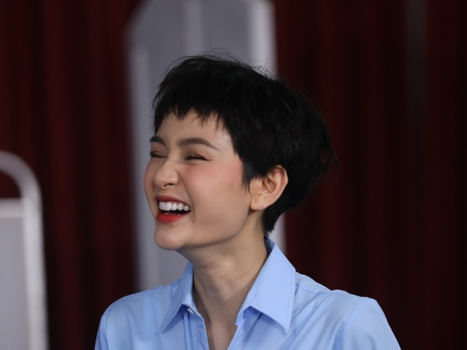 Hien Ho bi gai di an toi cung em trai Truong Giang hinh anh