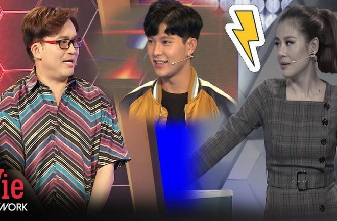 Nam Thu bi dong nghiep lam ton thuong o game show hinh anh