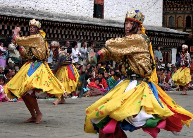Khong co chua, an chay va nhung khac biet o Bhutan hinh anh