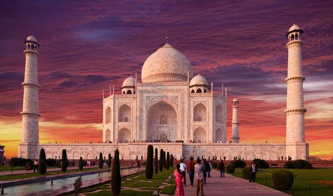 Den Taj Mahal o An Do tang gia ve tham quan hinh anh 1
