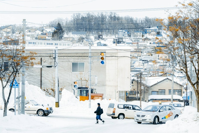 Hokkaido tuyet roi, noi dang den nhat mua dong o Nhat Ban hinh anh