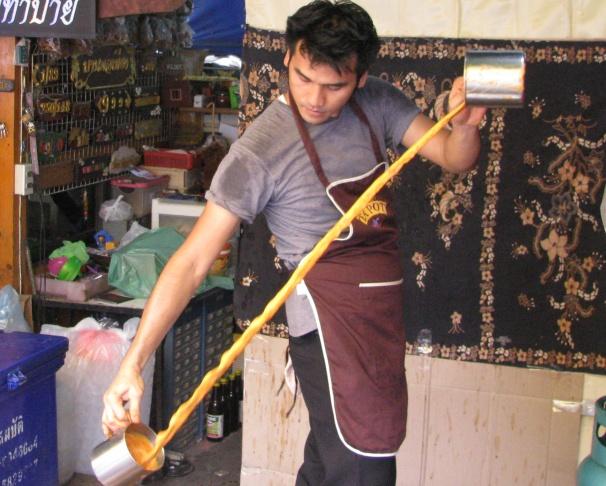 Tra sua mua o Thai Lan khien du khach to mo hinh anh