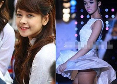 Cuoc song hai mat cua cac hot girl Viet hinh anh