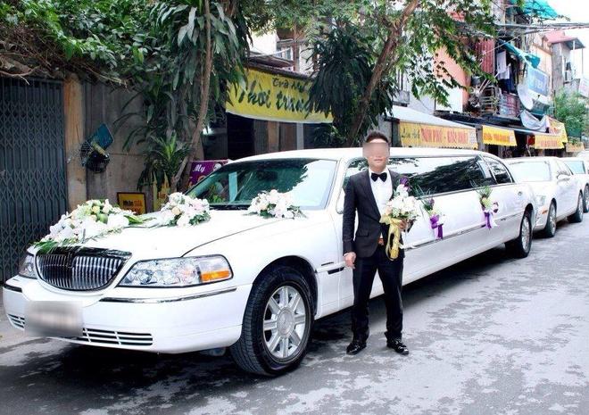 Bi to doi qua phien ban 2, em re len tieng hinh anh 2 B.T rước dâu bằng siêu xe trong ngày cưới.