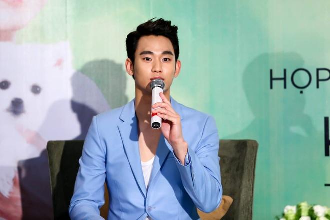 Hot boy Kelbin Lei mat sung hup o buoi giao luu Kim Soo Huyn hinh anh 8