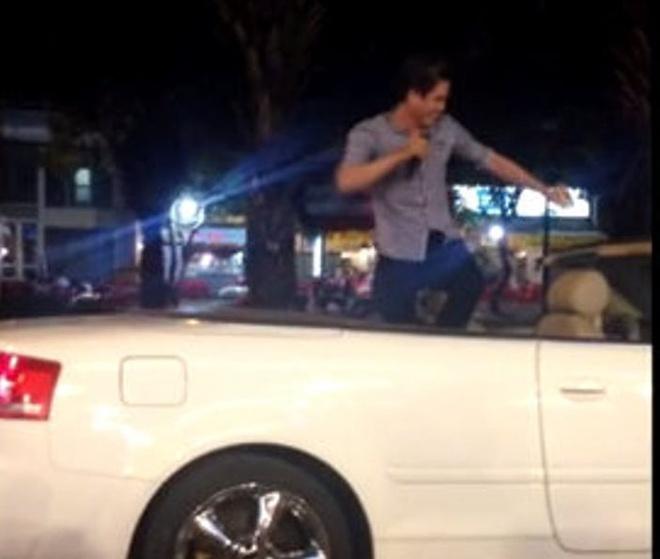 Su that clip dai gia di xe mui tran ban keo keo 5.000 dong hinh anh