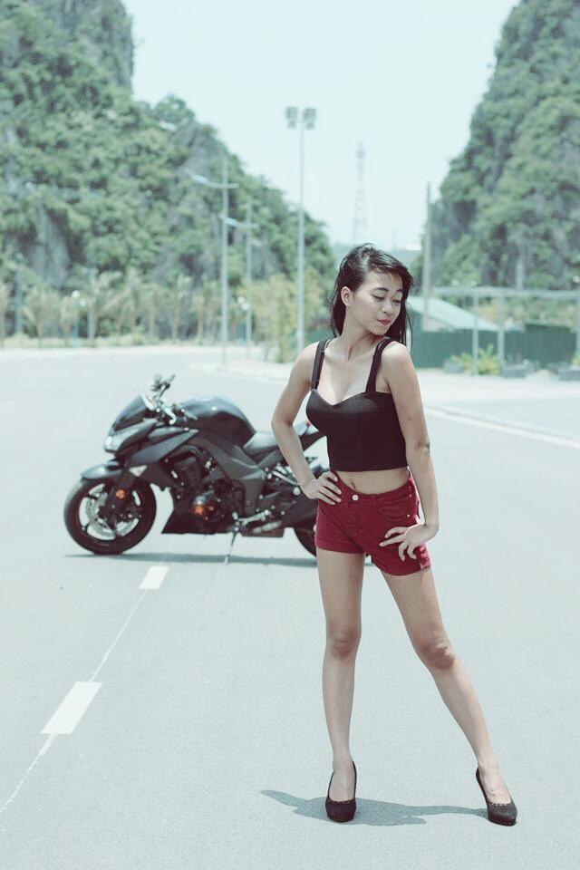 Co gai Quang Ninh sinh nam 1996 cuoi Ducati gay chu y hinh anh 10