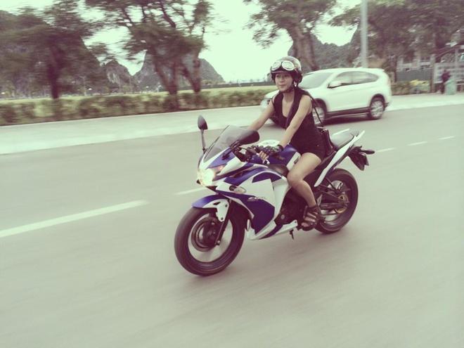 Co gai Quang Ninh sinh nam 1996 cuoi Ducati gay chu y hinh anh 4