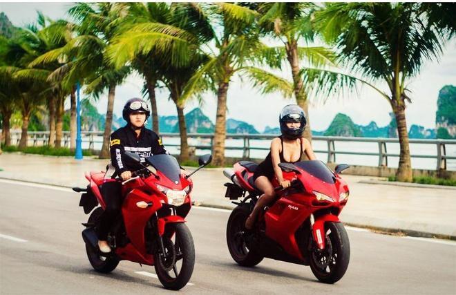 Co gai Quang Ninh sinh nam 1996 cuoi Ducati gay chu y hinh anh 11