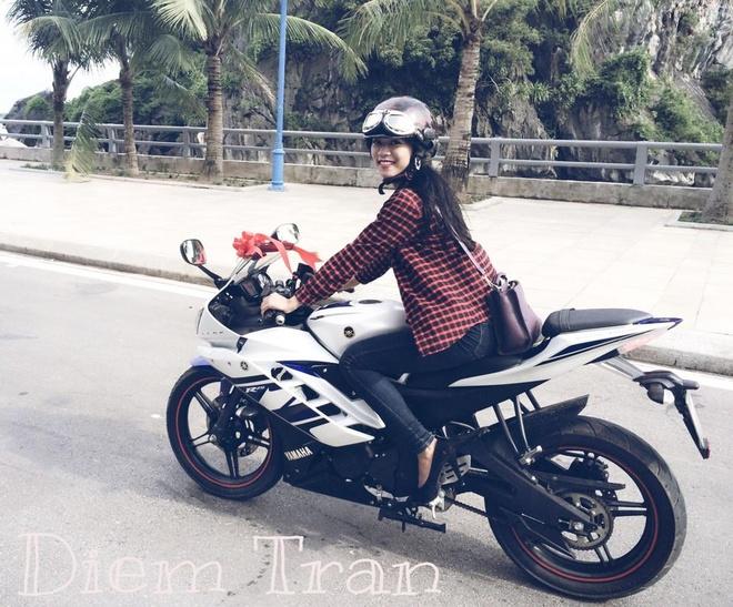 Co gai Quang Ninh sinh nam 1996 cuoi Ducati gay chu y hinh anh 7