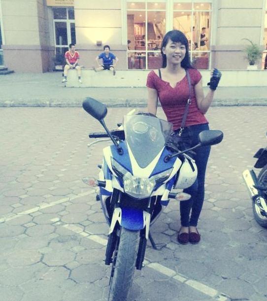 Co gai Quang Ninh sinh nam 1996 cuoi Ducati gay chu y hinh anh 5