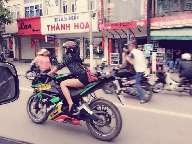 Co gai Quang Ninh sinh nam 1996 cuoi Ducati gay chu y hinh anh 9