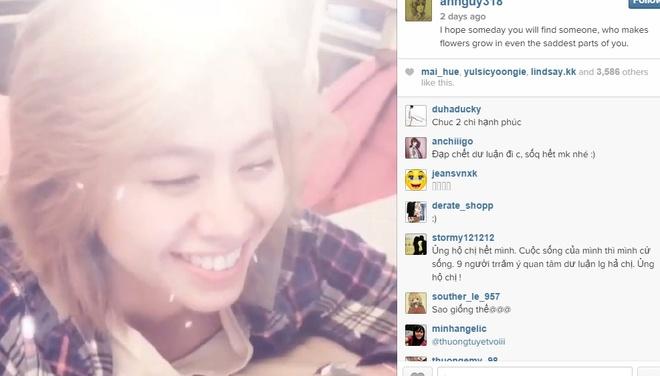 An Nguy dang clip, viet loi co canh cho ban gai hinh anh 1