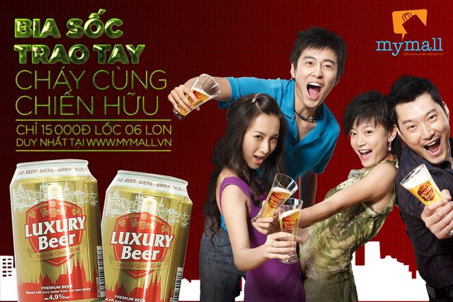 Thuong thuc bia Tiep 15.000 dong cho 6 lon hinh anh