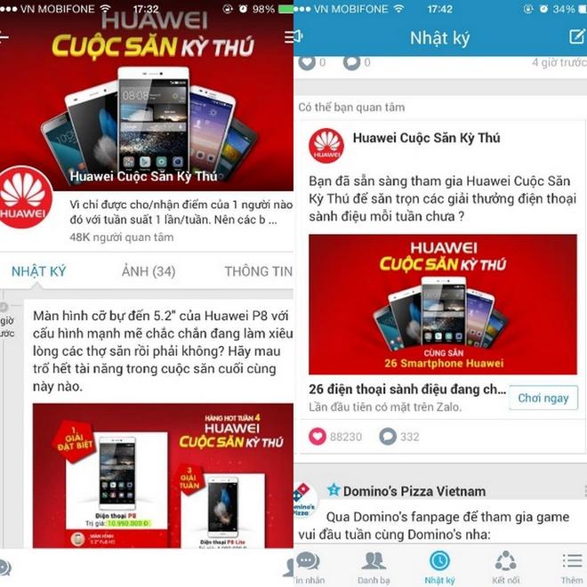 Cuoc dua san dien thoai Huawei hut 100.000 nguoi tham gia hinh anh