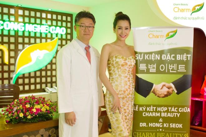 Phan Thu Quyen duyen dang du su kien nang mui S-line Plus hinh anh 5