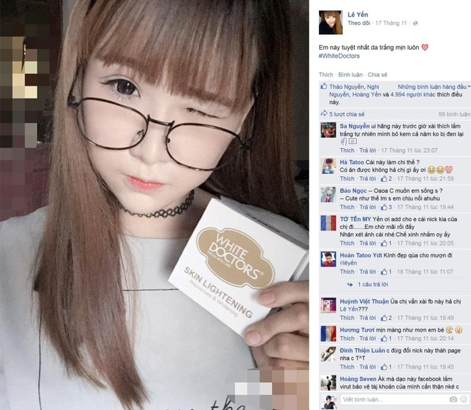 My pham White Doctors dat thuong hieu chat luong quoc te hinh anh 6