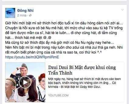 Noo Phuoc Thinh, Dong Nhi bat mi so thich doc thoi tuoi teen hinh anh 2