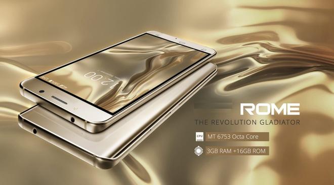 ROME UM: Smartphone co thiet ke cong mem mai hinh anh 1