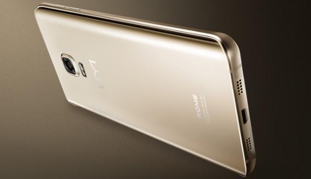 ROME UM: Smartphone co thiet ke cong mem mai hinh anh 3